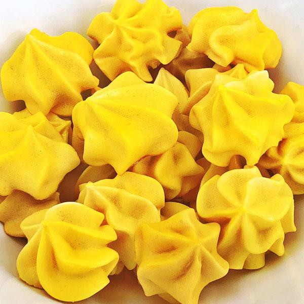 Yuzu Luxe Sour Meringue Cookies