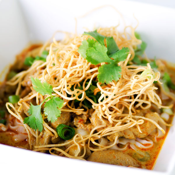 Coconut Curried Chicken Noodles