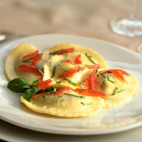 Gorgonzola Dolce – Apricot Raviolini