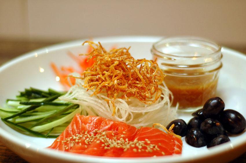 Toss Toss Salad (Modified Yee Sang)