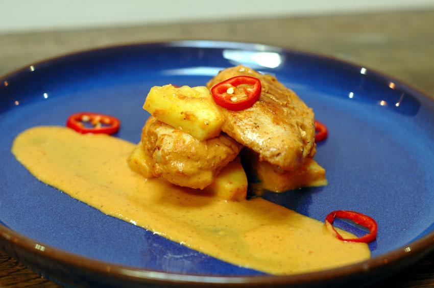 Nyonya Curry Chicken