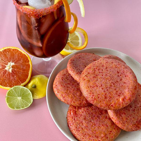 Sparkling Sangria Cookies