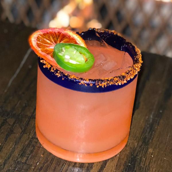 Blood Orange-Jalapeño Margarita